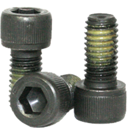 "Socket Head Cap Screw, Coarse Alloy Nylon-Patch Thermal Black Oxide - 1""-8x5"" (PT), Qty 10"