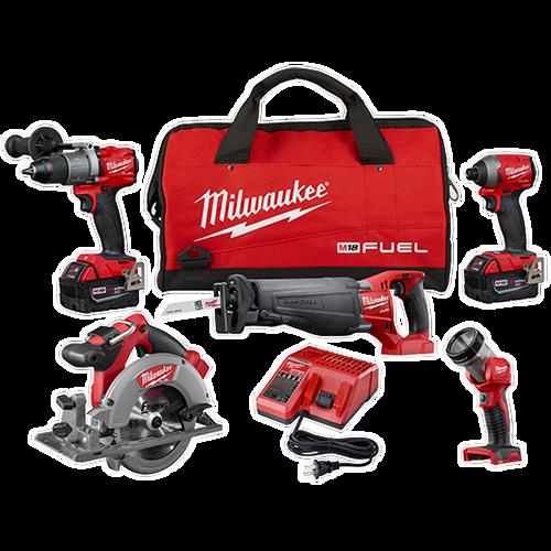 M18 FUEL™ 5 Tool Combo Kit