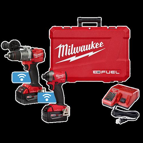 M18 FUEL™ 2-Tool Hammer Drill & Impact Driver w/ ONE-KEY™ Combo Kit
