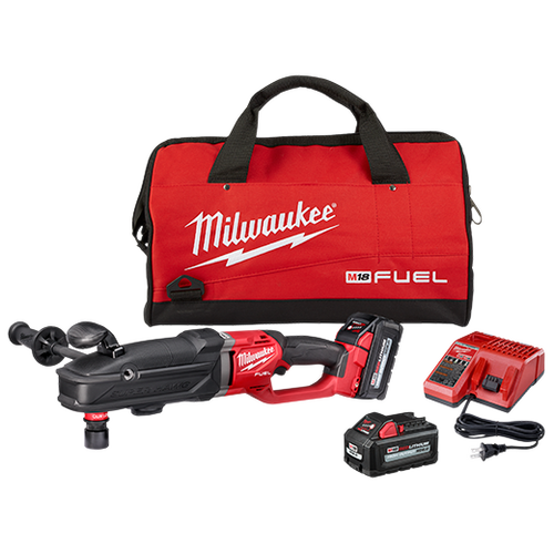 M18 FUEL™ SUPER HAWG™ Right Angle Drill w/ QUIK-LOK™ Kit