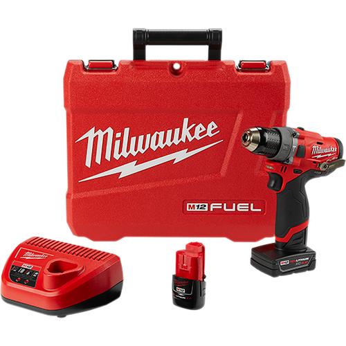 """M12 FUEL™ 1/2"""" Hammer Drill Kit"""