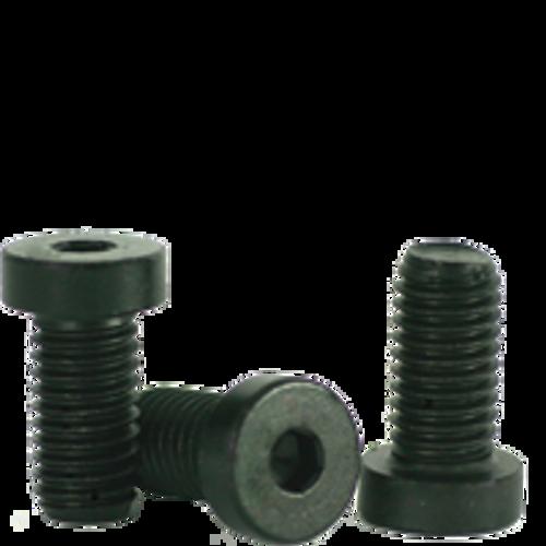 M10-1.50x40 MM(PT)  LOW HEAD SOCKET CAPS 10.9 COARSE ALLOY DIN 7984 THERMAL BLACK OXIDE, Qty 100