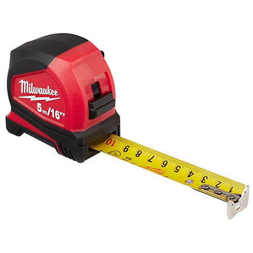 5m/16ft Compact Tape Measure