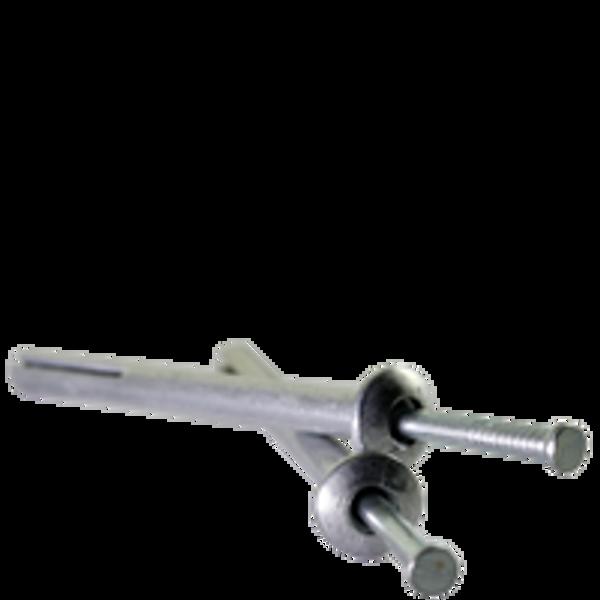 "1/4""x1"" Hammer Drive Anchor Mushroom Head Zinc Alloy with Zinc Plated Steel Na, Qty 100"