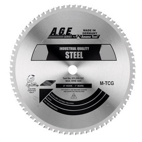 Amana STL210-30 Alloy / Steel Blade for Festool TS 75