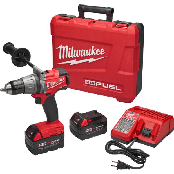 """Milwaukee I M18 FUEL™ 1/2"""" HAMMER DRILL/DRIVER KIT"""