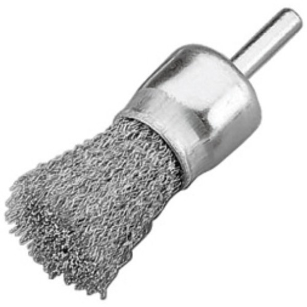 """Alfa Tools I 1"""" STAINLESS STEEL KNOTTED END BRUSH"""