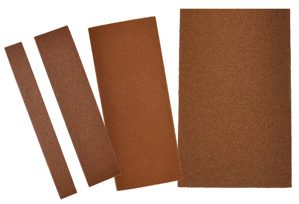 "Alfa Tools I 9"" X 11"" 50 GRIT PSA ALUMINUM OXIDE RESIN CLOTH SHEET 50/PACK"