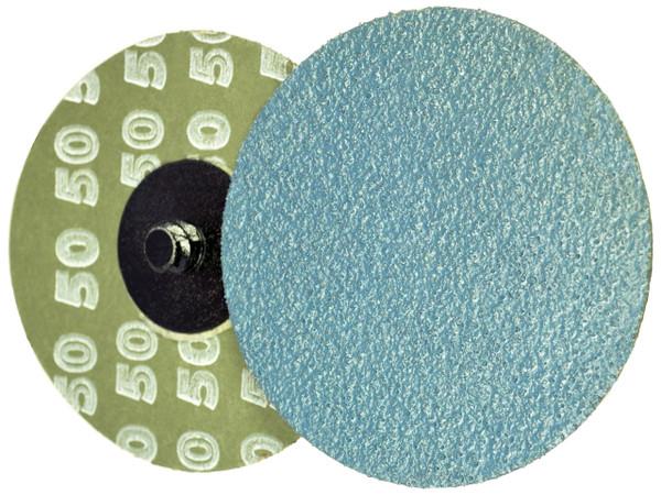 "Alfa Tools I 2"" X 80 GRIT ZIRCONIA QUICK CHANGE RESIN FIBRE DISC TYPE 'R'"