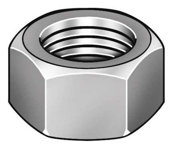 Stainless Nut I 1/4-20 Stainless Steel HEX NUTS 18-8