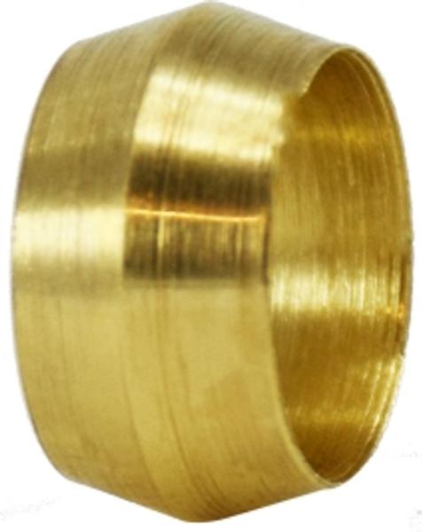 Brass Sleeve 1/4 COMPRESSION SLEEVE - 18003