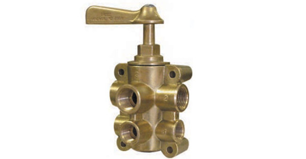 6 Port Fuel Valve 1/2 X 3/8 SIX PORT FUEL VALVE - 46237