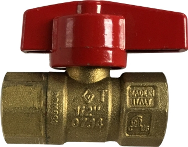 Gas Ball Valve Female x Female 3/4 IPS GAS BALL VALVE