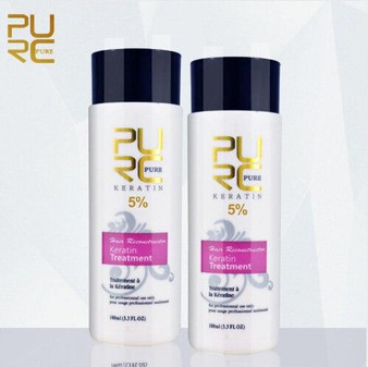 KERATIN TREATMENT PURE KERATIN TREATMENT FORMULA 5percent 2 X 3.3 fl oz 2 X 100ml