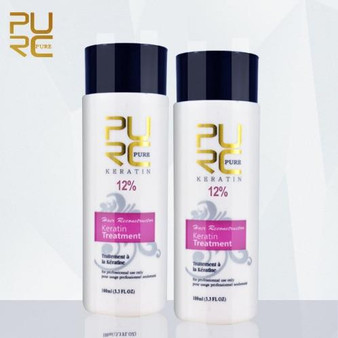 KERATIN TREATMENT PURE KERATIN TREATMENT FORMULA 12percent 2 X 3.3 fl oz 2 X 100ml