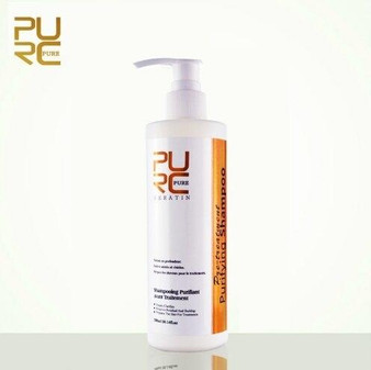 KERATIN TREATMENT KERATIN PRE-TREATMENT PURIFYING SHAMPOO 10.14 fl oz 300 ml