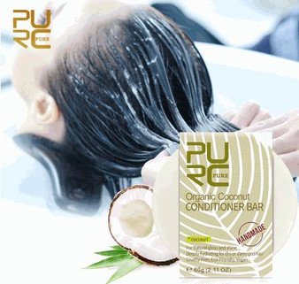 PURC CONDITIONER ORGANIC DAILY DRY CONDITIONER BAR COCONUT 1.92 oz 60 g