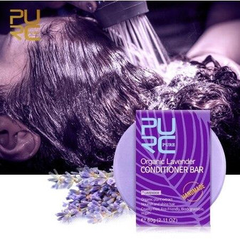 PURC CONDITIONER ORGANIC DAILY DRY CONDITIONER BAR LAVENDER 1.92 oz 60 g