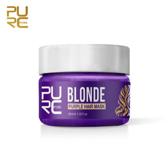 PURE KERATIN BLONDE BRASSINESS and YELLOW TONES REMOVAL HAIR MASK 2.02 floz 60 ml