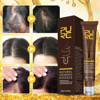 HAIR GROWTH NATURAL HAIR REGROWTH ESSENCE - 0.7 fl oz 20g
