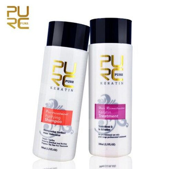 KERATIN TREATMENT KERATIN TREATMENT AT HOME - PURIFYING SHAMPOO KERATIN TREATMENT 5percent 2 x 3.3 fl oz 2 x 100 ml