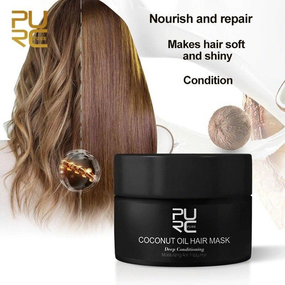 PURC COCONUT INTENSE REPAIR HAIR MASK 50ML 1.69 floz