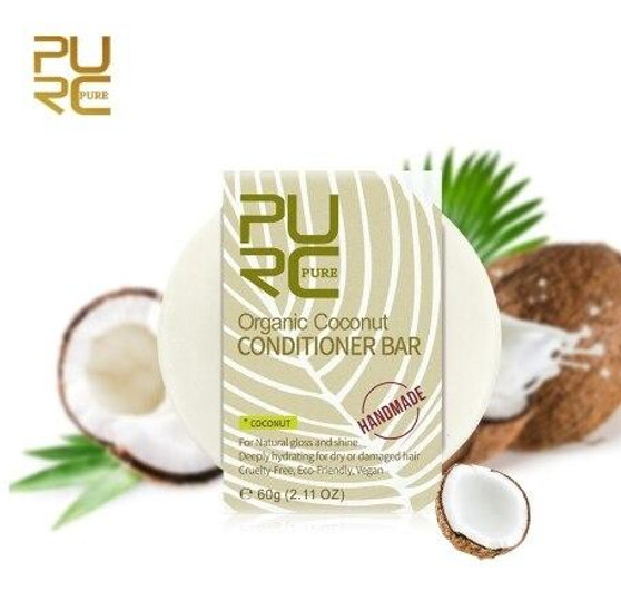PURC CONDITIONER SHAMPOING ET CONDITIONNEUR EN BARRE 60 g