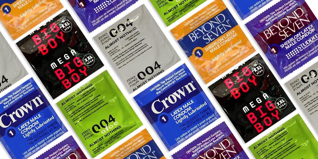 Bulk Wholesale Crown Condoms