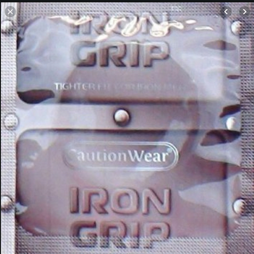 Caution Wear Iron Grip Bulk