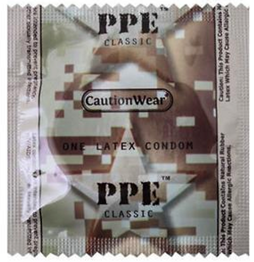 Caution Wear Condoms Wholesale Bulk PPE Condom