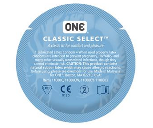 One Classic Select Bulk Condoms