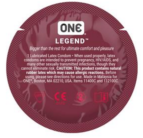 ONE Legend Large Bulk Condoms