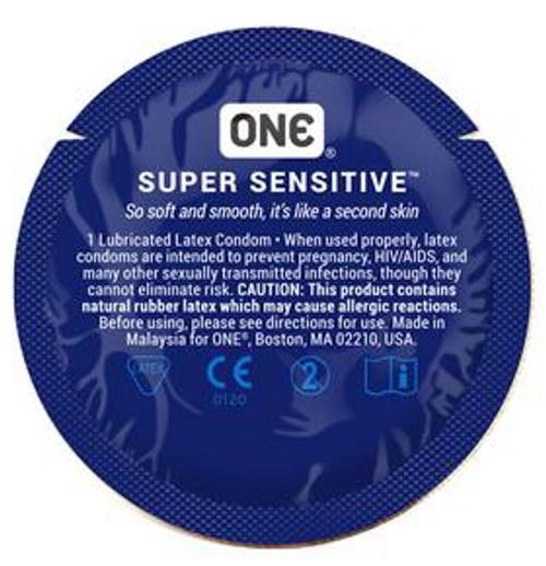 One Super Sensitive BULK Condoms