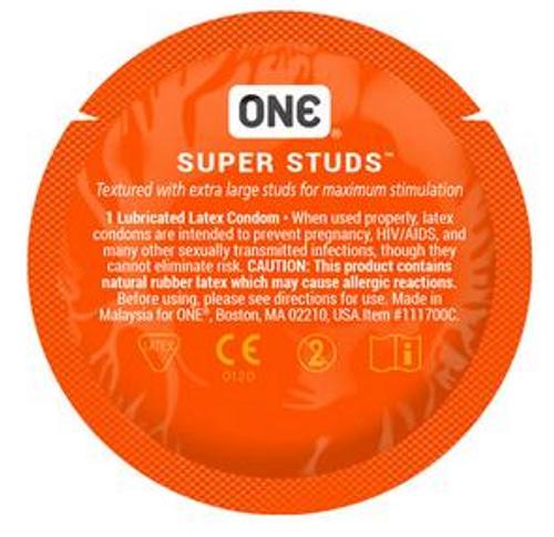 ONE Super Studs Bulk Condoms