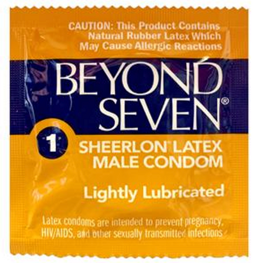 Beyond Seven Bulk Condoms