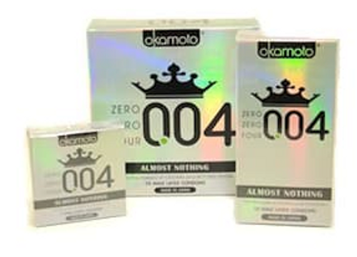 Okamoto Zero Zero Four Condoms Wholesale