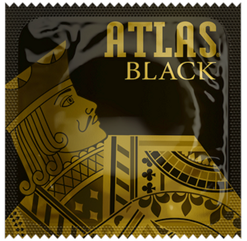 Atlas Black Condoms - Wholesale Bulk Condoms