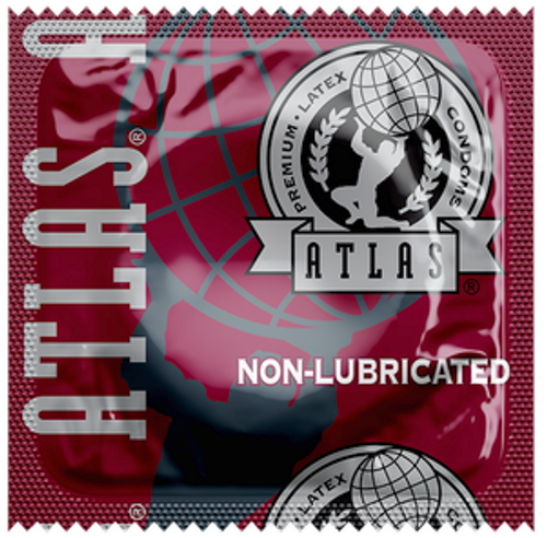 Atlas Non-Lubricated Bulk Condoms