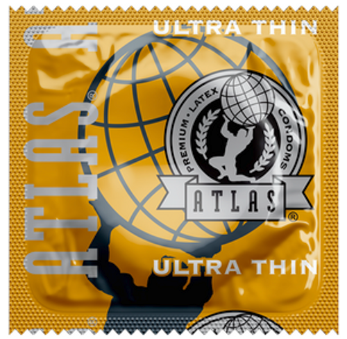 Atlas Ultra Thin Condoms - Bulk Wholesale Condoms
