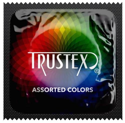 Wholesale Trustex Assorted Color Condoms BULK