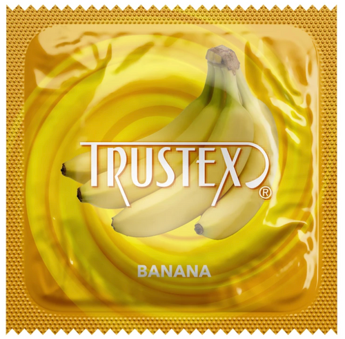 Trustex Banana Flavored Condoms Bulk Wholesale