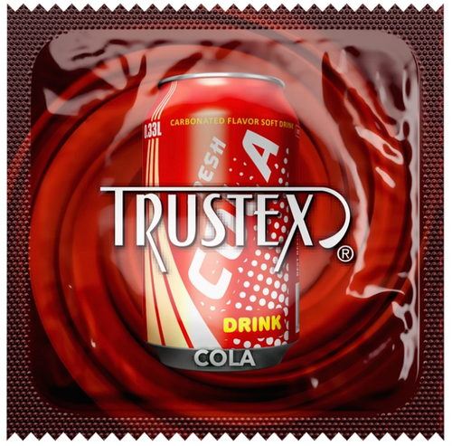 Trustex Cola Flavored Condoms Bulk Wholesale