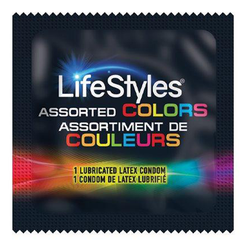 LifeStyles Assorted Colors Condoms Wholesale Bulk