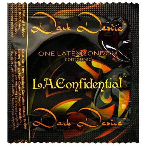 L.A. Confidential Dark Desire Contoured Condoms - Wholesale Condom Distributor