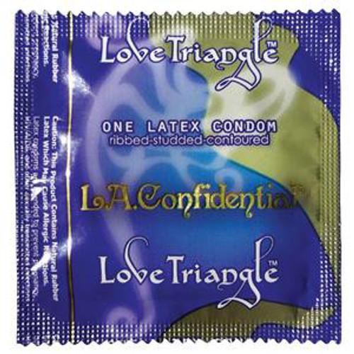 L.A. Confidential Love Triangle Condoms - Wholesale Condom Distributor
