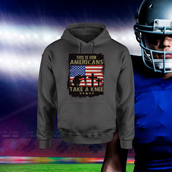 Hoodie, america, american, take a knee, honor, veteran, military