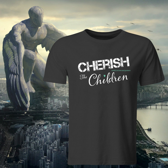 Apparel, t-shirt, tee, raise awareness, support, good cause, Cherish Nunally