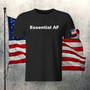 tee, essential, soldiers, usa, frontline, honor, respect, thanks