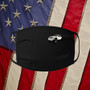Black, 100% cotton, machine washable, 3 ply, safety, competition, Jeep