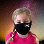 Black, 100% cotton, machine washable, 2 ply, safety, face mask, star wars, X-Wing, kids